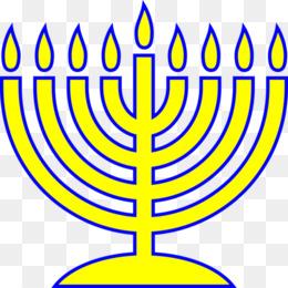 260x260 Menorah Judaism Hanukkah Clip Art