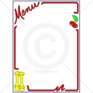 300x300 Free Menu Clipart Free Download Best Free Menu Clipart On Inside