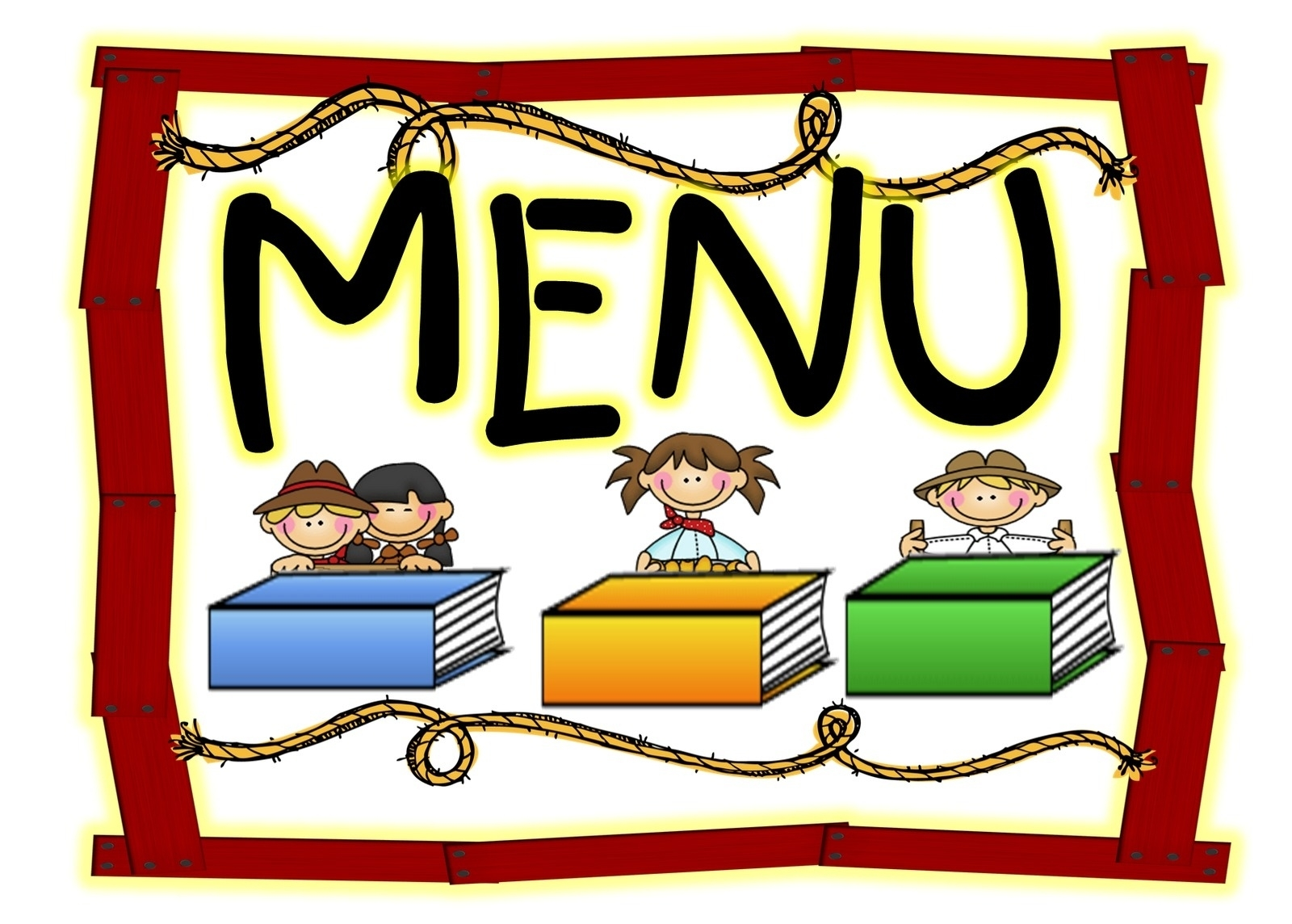 1600x1144 School Menu Clip Art Printables And Menu