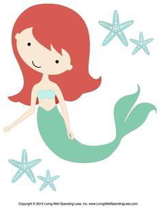 236x305 Free Clip Art Mermaid Mermaid Clipart Party Clipart