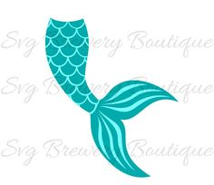 236x204 Mermaid Tail Svg, Mermaid Monogram Frame 6 Variations