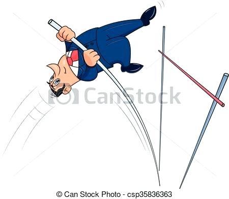 450x391 Pole Vault Cliprt Royalty Free Cliprt Illustration