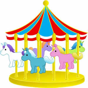 300x300 Carousel Ride Clipart