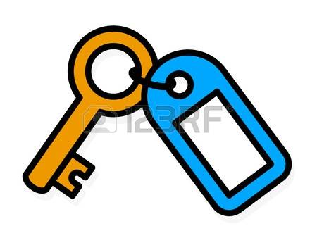 450x338 Metal Clipart Colored Key