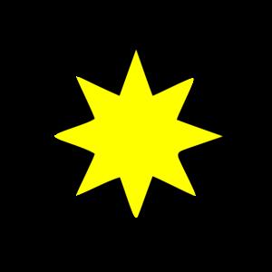 300x300 Star 1 Clip Art