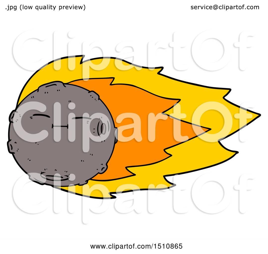 1080x1024 Cartoon Meteorite By Lineartestpilot