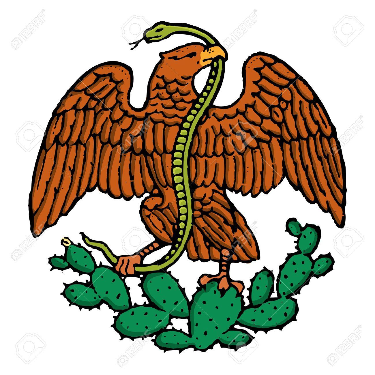 1300x1300 Eagle Clipart Mexican Eagle