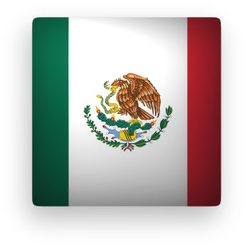 346x347 Free Animated Mexico Flags
