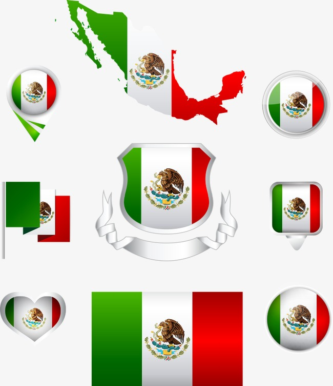 650x752 Mexican Flag Png, Vectors, Psd, And Clipart For Free Download