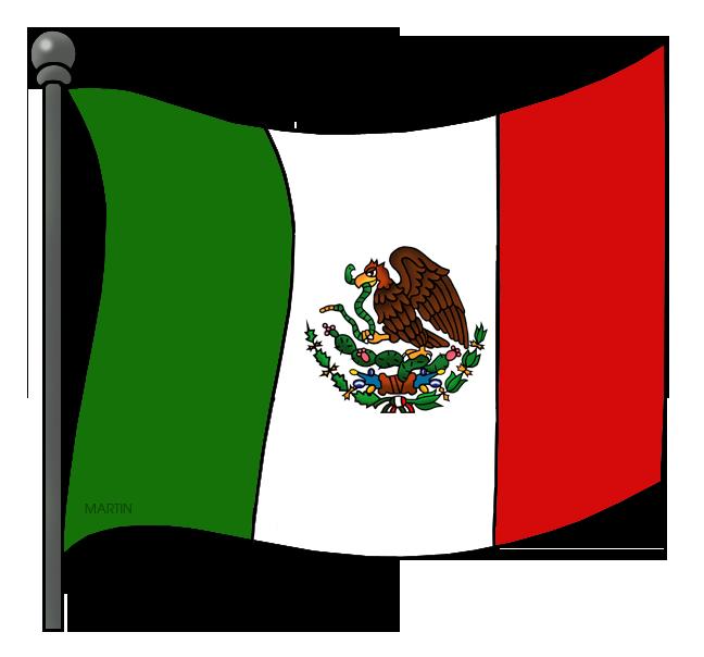 648x604 Mexico Clip Art By Phillip Martin, Mexican Flag