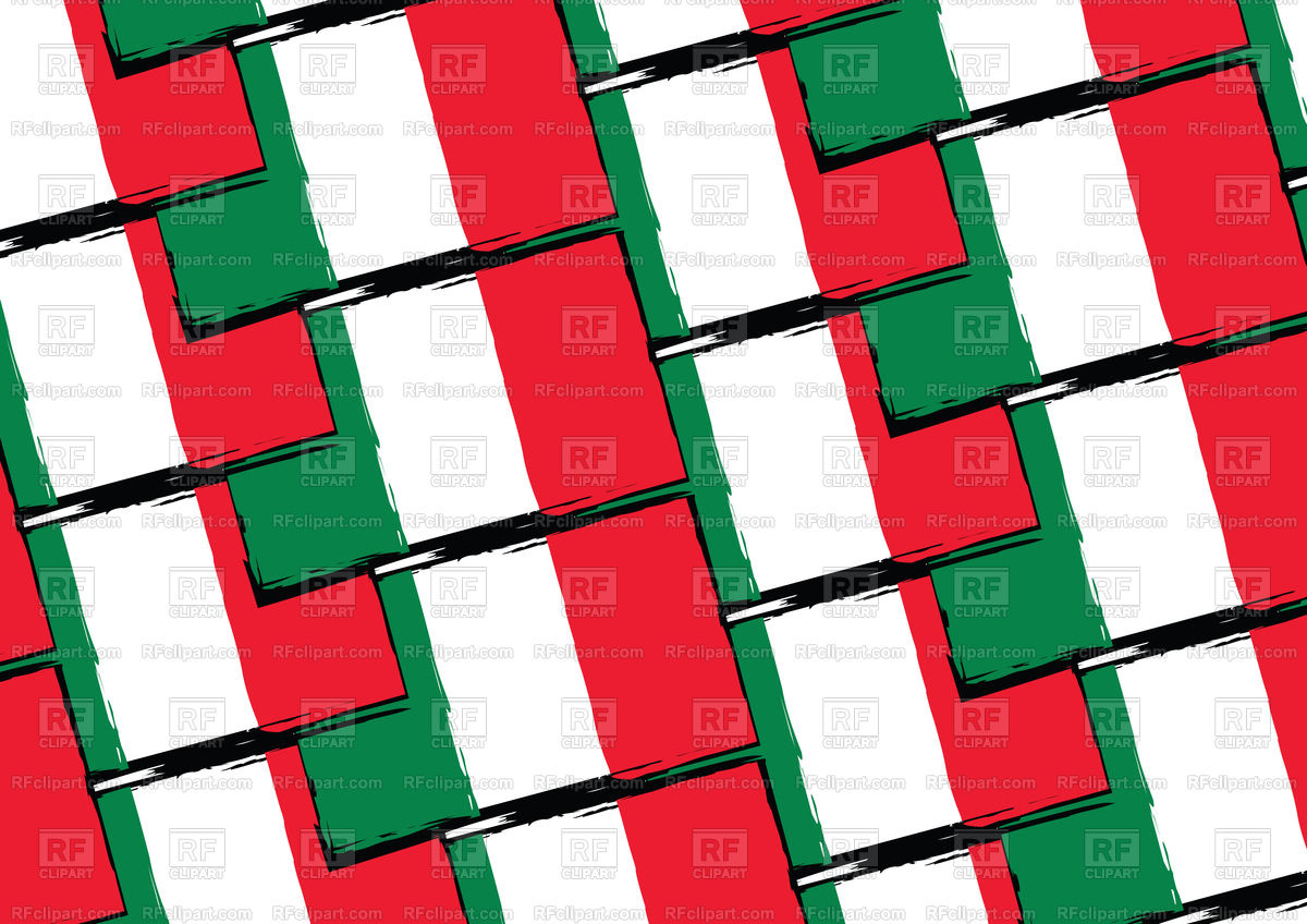 1200x848 Abstract Mexican Flag Seamless Pattern Royalty Free Vector Clip