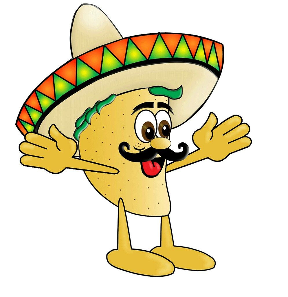 995x1024 Shocking Cartoon Taco Clipart Best On Pic For Mexican Food Clip