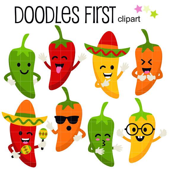 570x570 Sweet Idea Jalapeno Clipart Mexican Food Pepper Border Clip Art