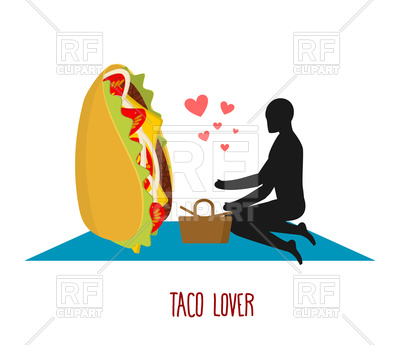 400x345 Taco Lover. Mexican Food