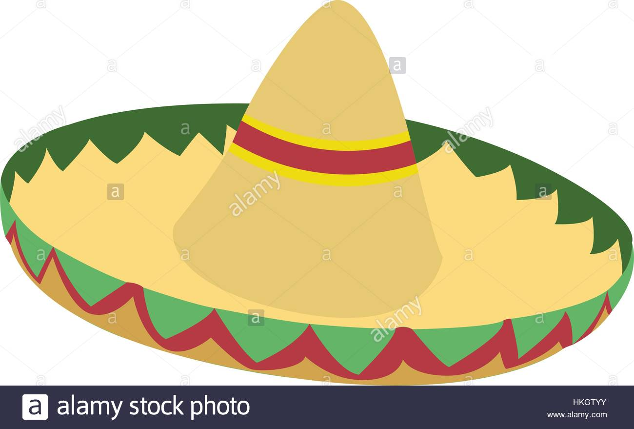 1300x879 Isolated Mexican Hat Stock Vector Art Amp Illustration, Vector Image