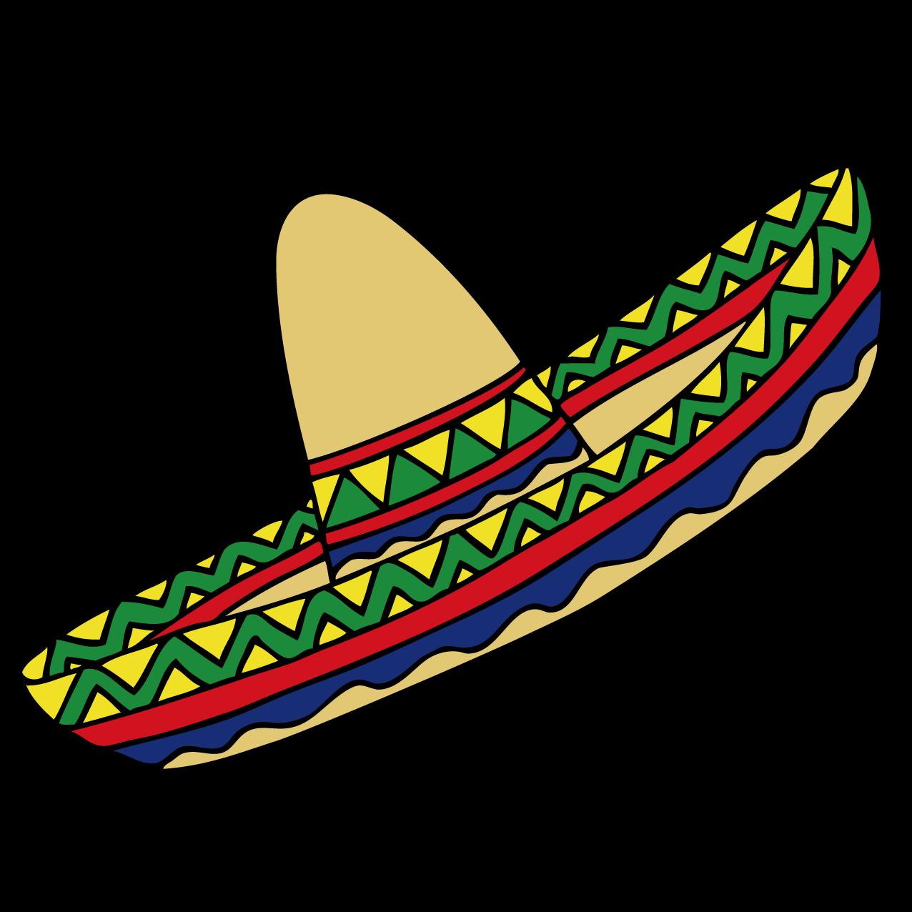 1276x1276 Mexican Hat Mexico Clip Art