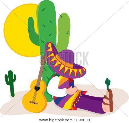 Mexican Sombrero Clipart