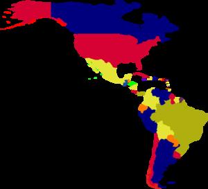 300x273 Latin America Map Clipart