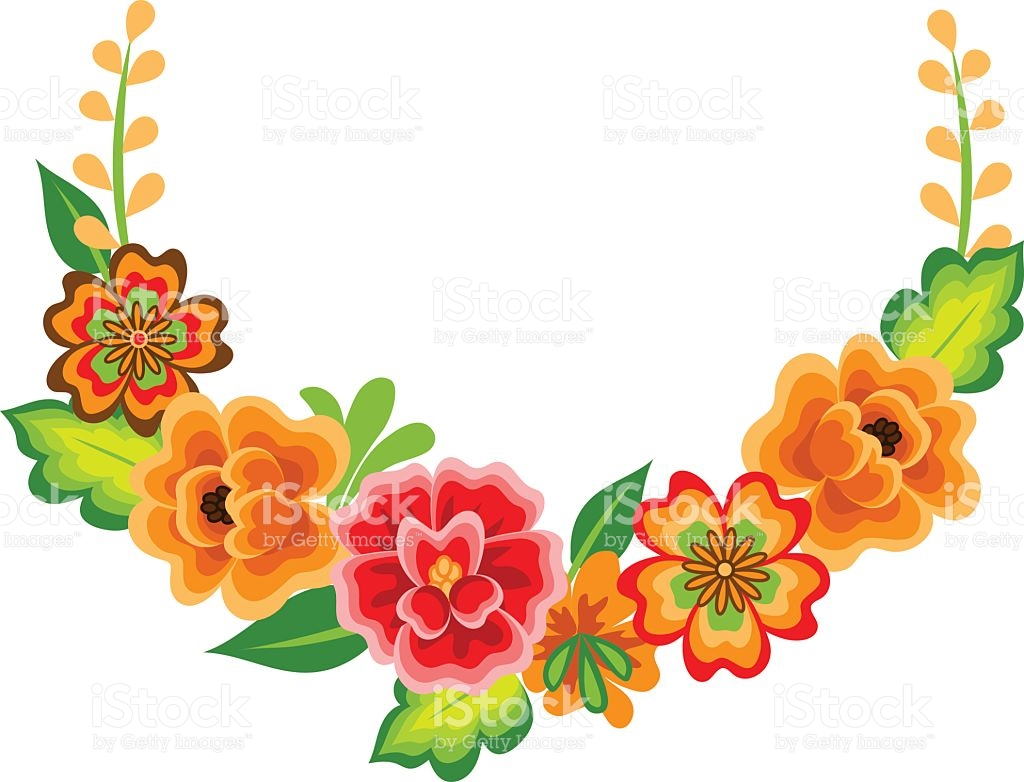 1024x782 Collection Of Mexican Flower Clipart High Quality, Free