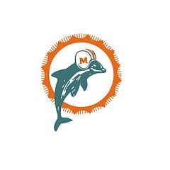 240x240 Miami Dolphins Logo Clip Art
