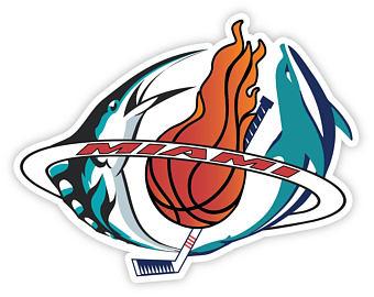 340x270 Miami Heat Sticker Etsy