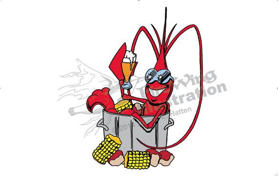 570x361 Crawfish Boil Clip Art