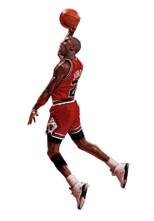 600x863 Michael Jordan Icon Png