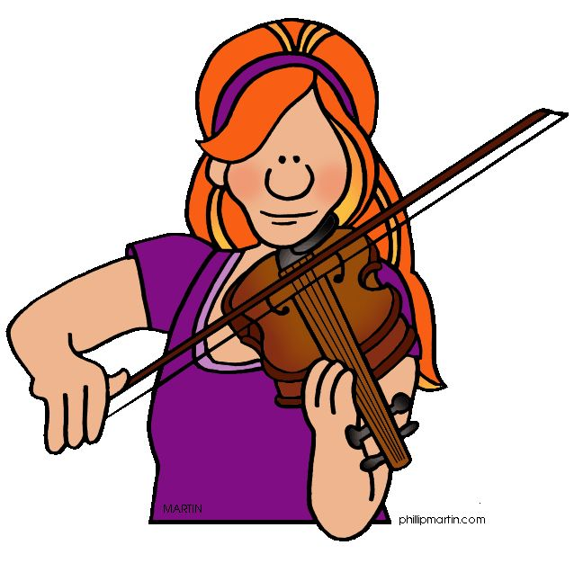 648x626 Violinist Clipart String Instrument Free Collection Download