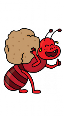 215x382 Ant Clipart Step