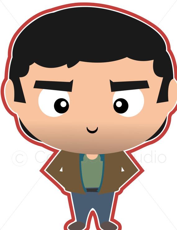 570x742 Supernatural Clipart John Winchester Cute Funko Pop