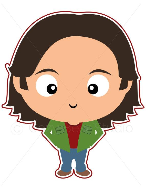 570x738 Supernatural Clipart Sam Winchester Cute Funko Pop Jared
