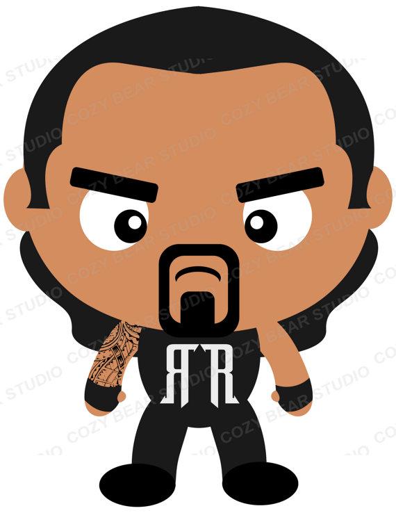 570x738 Wrestling Clipart Aj Styles Dean Ambrose John Cena Randy