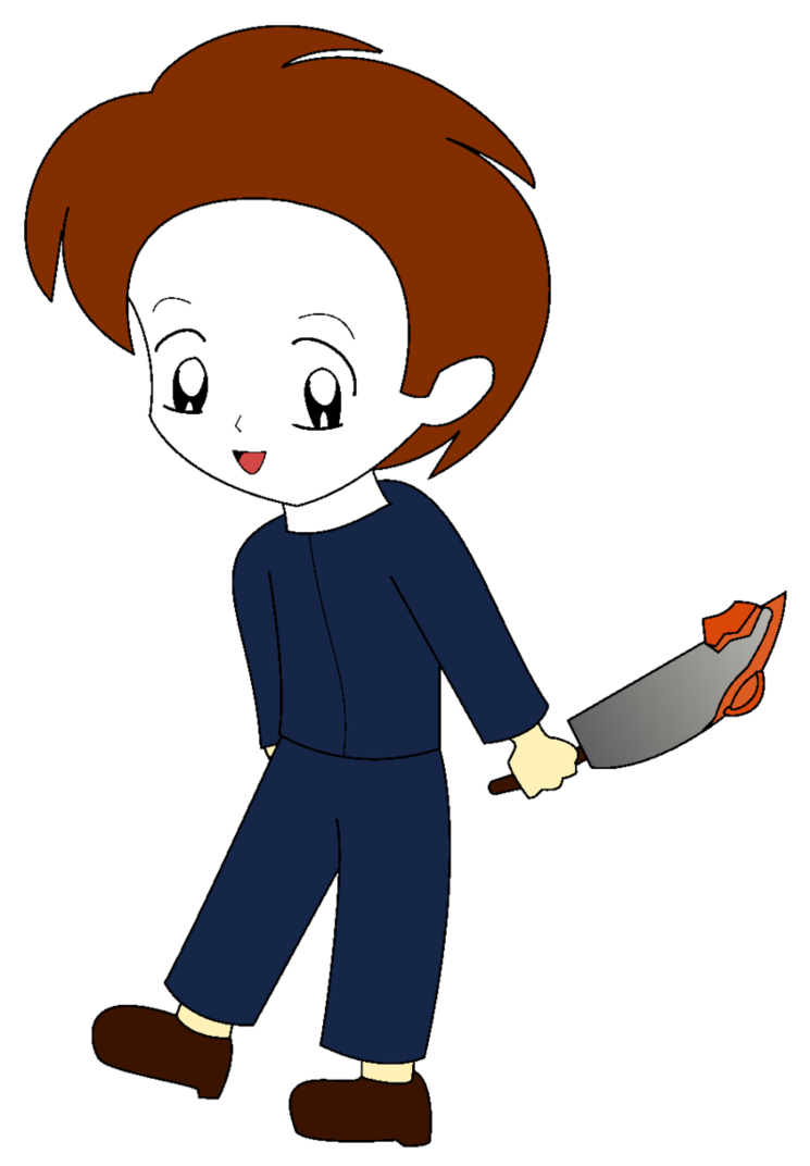 745x1072 Chibi Michael Myers By Chicktristen94