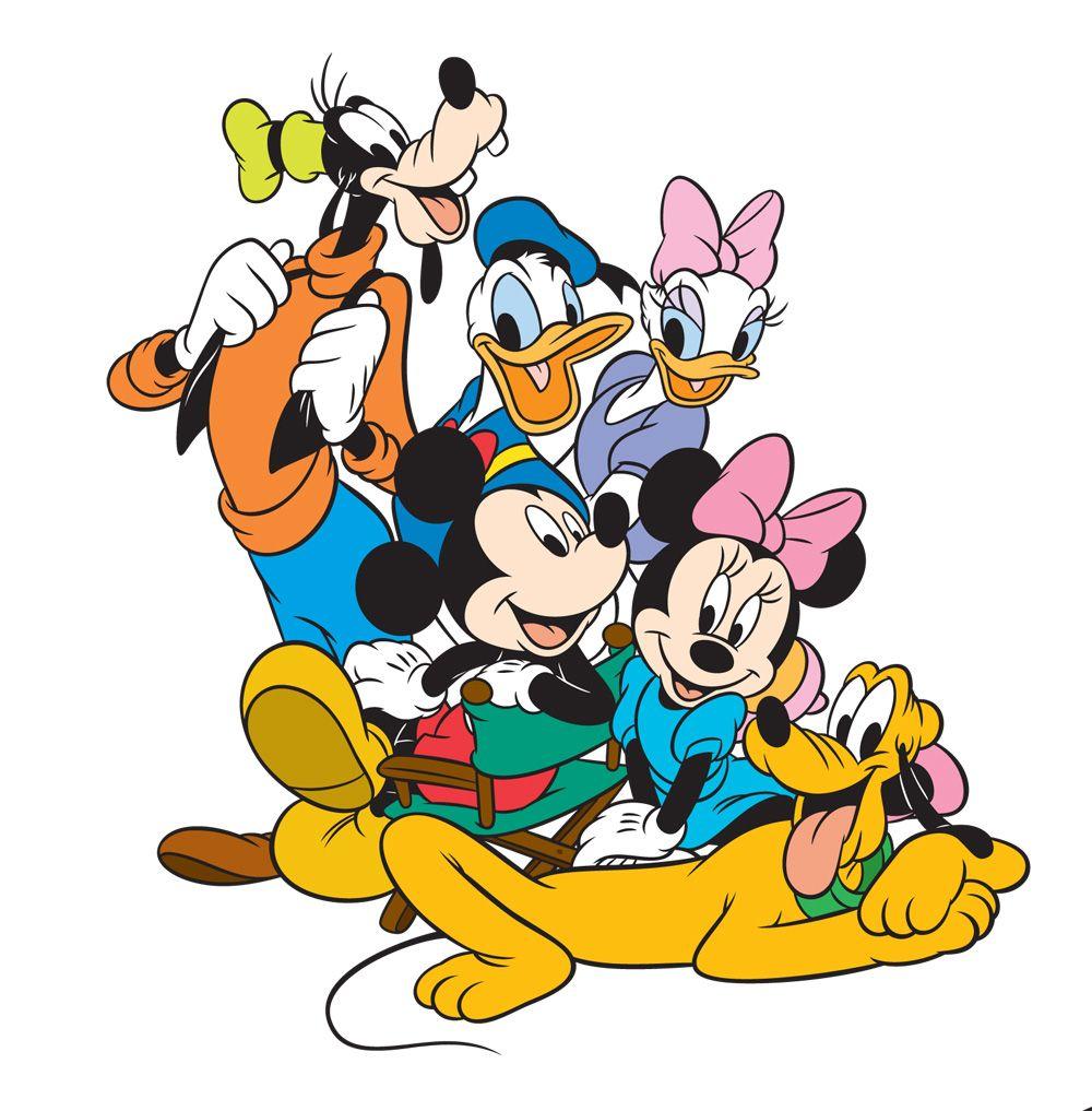 1000x1017 Mickey @ Minnie Clipart Design Disney Mickey Minnie Goofy Vector