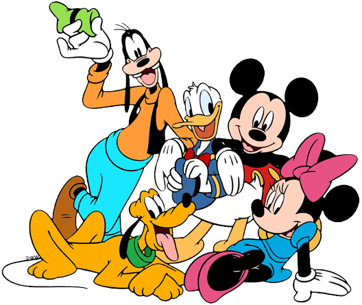 528x445 Mickey Mouse Amp Friends Clip Art Disney Clip Art Galore