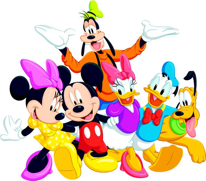 700x614 Mickey Mouse And Friends Clip Art Disney Clip Art Galore