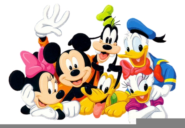 600x415 Disney Mickey And Friends Clipart Free Images