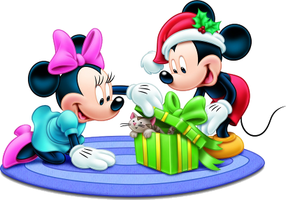 409x287 Mickey And Minnie Xmas