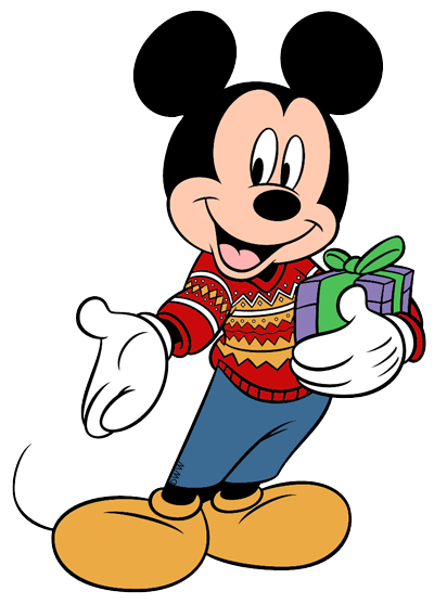 400x557 Mickeysweater.png Christmas Clipart