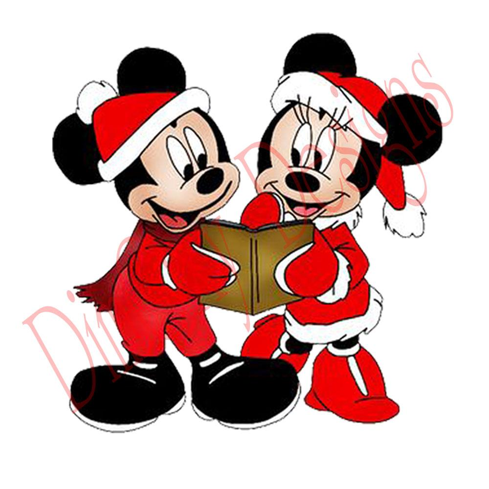 1000x1000 Disney Mickey Minnie With Christmas Book. Christmas