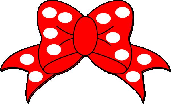 600x366 Clip Art Bows Polka Bow Clip Art