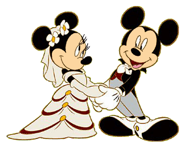 Mickey And Minnie Wedding Clipart at GetDrawings | Free ...