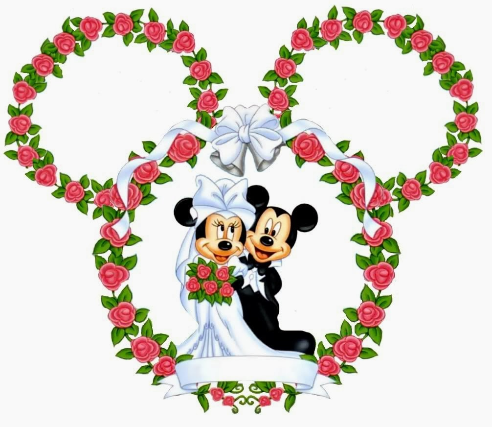 1006x872 Minnie And Mickey Wedding Free Printables. Oh My Fiesta! In English
