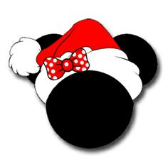 Mickey Christmas Clipart