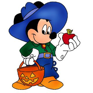 Mickey Halloween Clipart