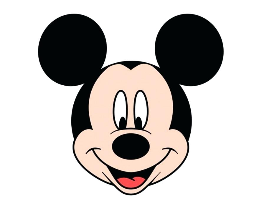 940x734 Mickey Mouse Face Template Printable Mickey Mouse Head Free