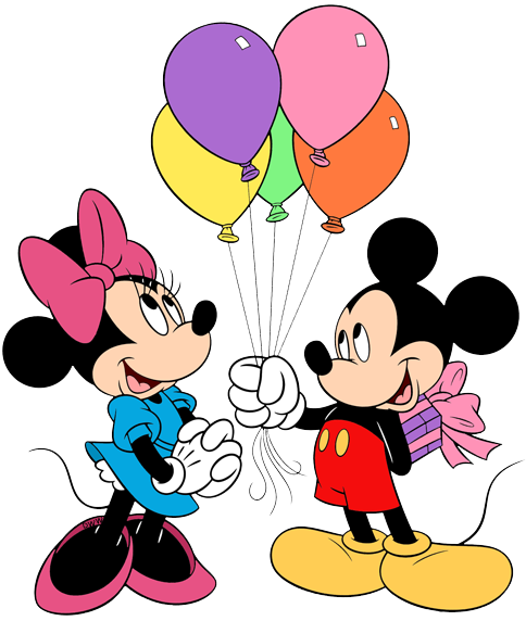 Happy Birthday Mickey And Minnie Mouse