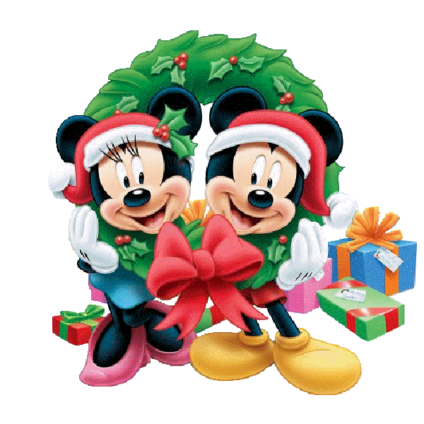 600x600 Mickey Mouse And Friends Xmas Clip Art Images On A Transparent