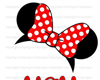 340x270 Minnie Mouse Ears Clip Art Clipartlook