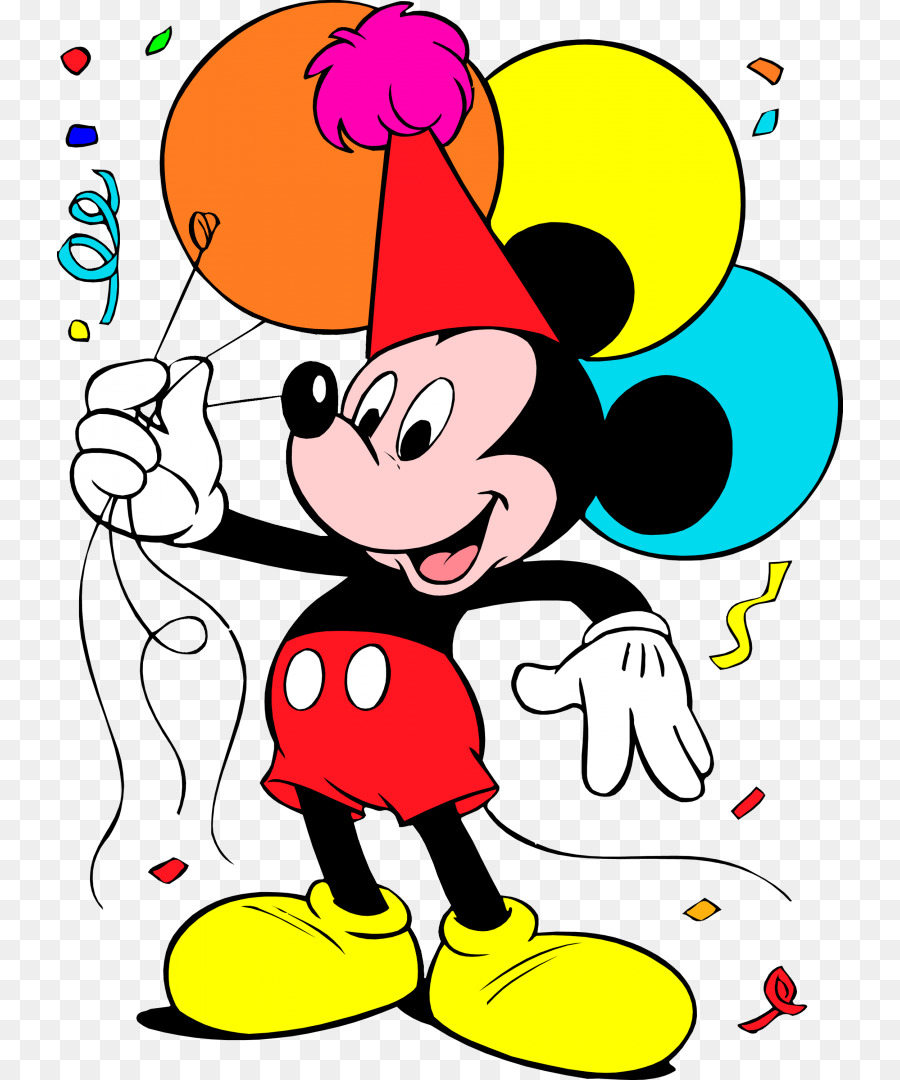 900x1080 Mickey Mouse Minnie Mouse Donald Duck Birthday Clip art